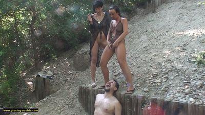 Mistresses Hanna And Jacky Use Slave